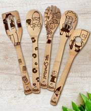 The Simpsons Wood-burned Spoons Set - Sponilo