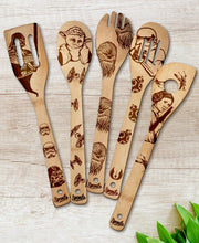 Star Wars Wood-burned Utensil Set - Sponilo