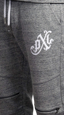 profitxloss.com Hoody Select Size / Heather Grey MONOGRAM - TRACK PANTS (HEATHER GREY)