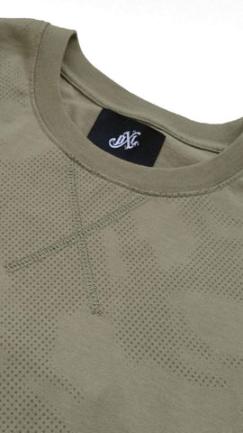 profitxloss.com Shirts Select Size / Olive MICRODOT CAMOUFLAGE - TSHIRT (OLIVE)