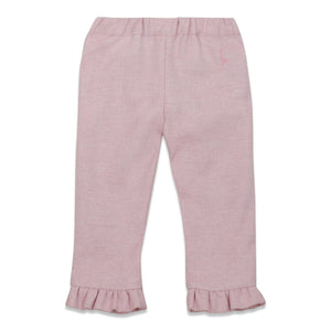Pink cotton trousers