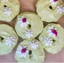 Load image into Gallery viewer, Matcha Latte Donuts (1/2 Dozen)
