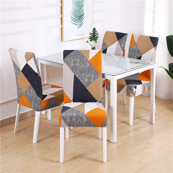 Vinnie Geometric Chair Cover