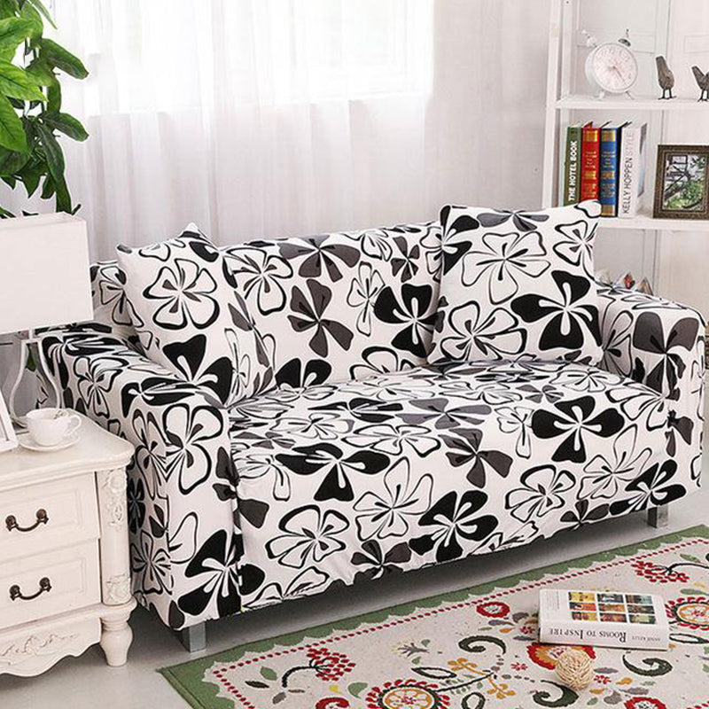 Wade Flower Sofa Cover - SofaPrint™