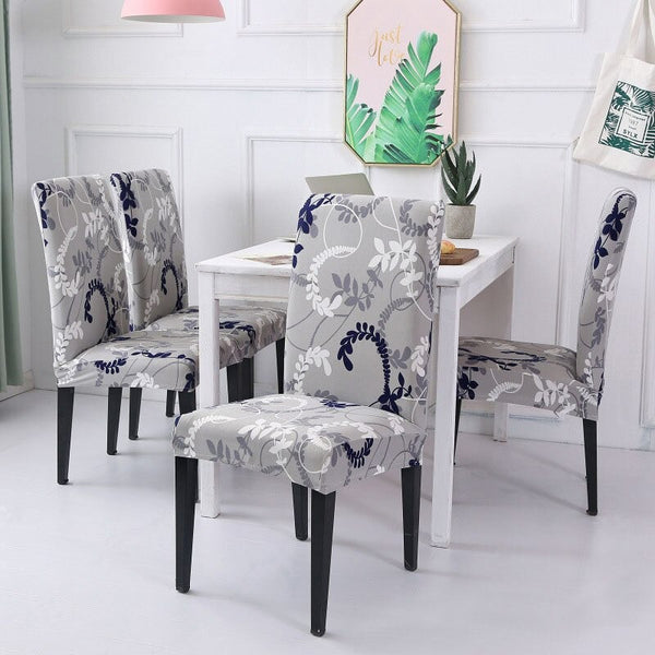 Cristian Reynolds Gray Blue Chair Cover