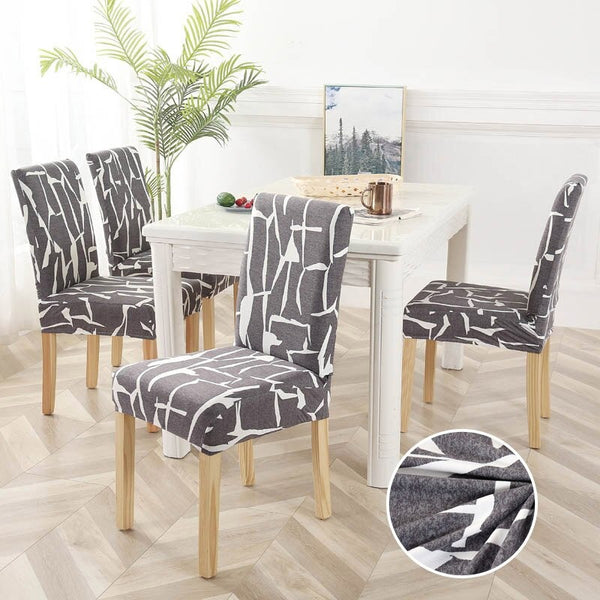 Ravinder Gray Chair Cover
