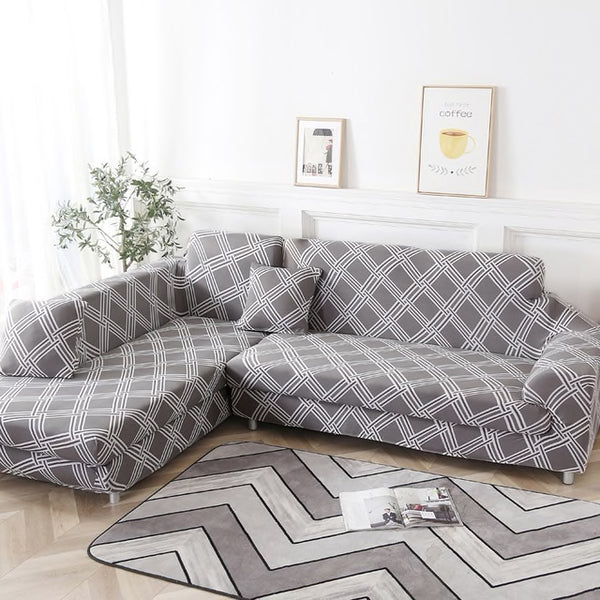 Rupert Lines Sofa Cover - SofaPrint™