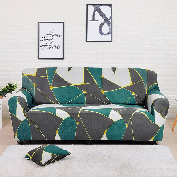 Kaiden Green Sofa Cover