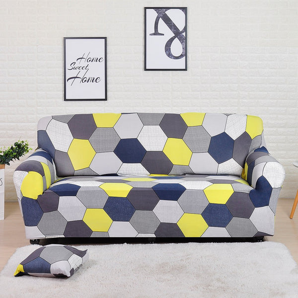 Kaycee Hexagon Sofa Cover
