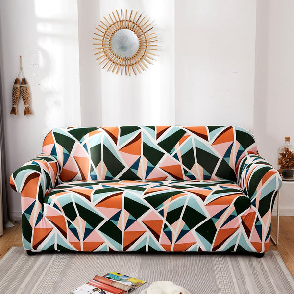 Mcknight Geometric Sofa Cover