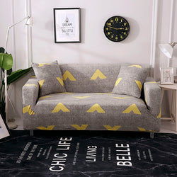 Arrow Head Gray Sofa Cover