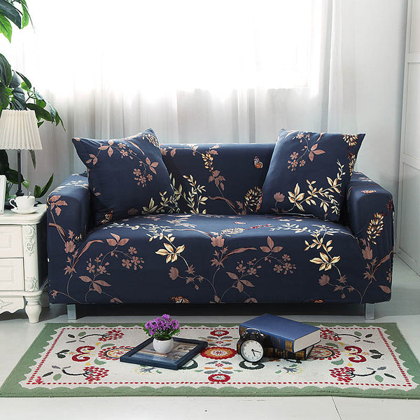 Ruben Harrison Blue Sofa Cover - SofaPrint™