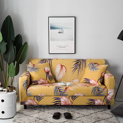 Fantastic Alina Stanley Yellow Sofa Cover Short Links Chair Design For Home Short Linksinfo