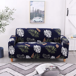 Chace Ibarra Leaf Sofa Cover - SofaPrint™