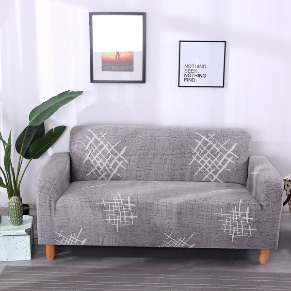 Jon Bridges Gray Sofa Cover - SofaPrint™
