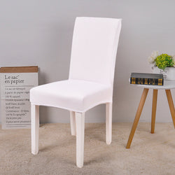 Solid White Chair Cover - SofaPrint™