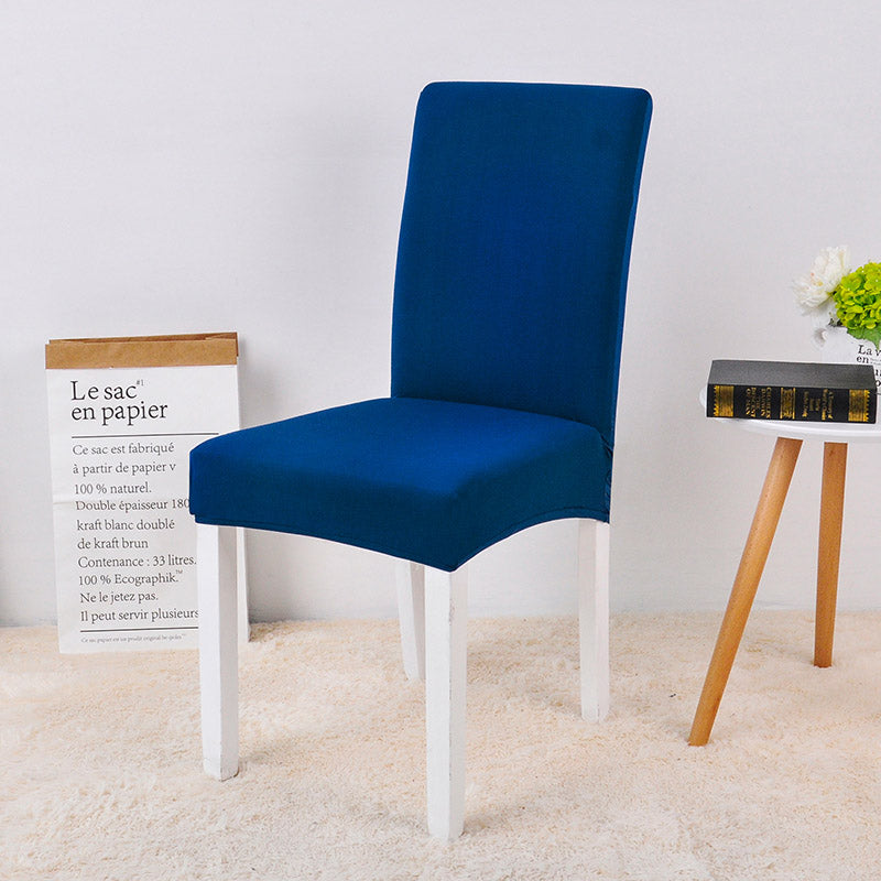 Solid Blue Chair Cover - SofaPrint™