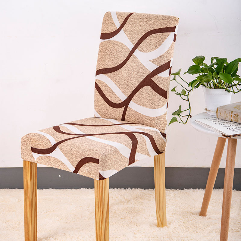Lucca Swirl Chair Cover - SofaPrint™