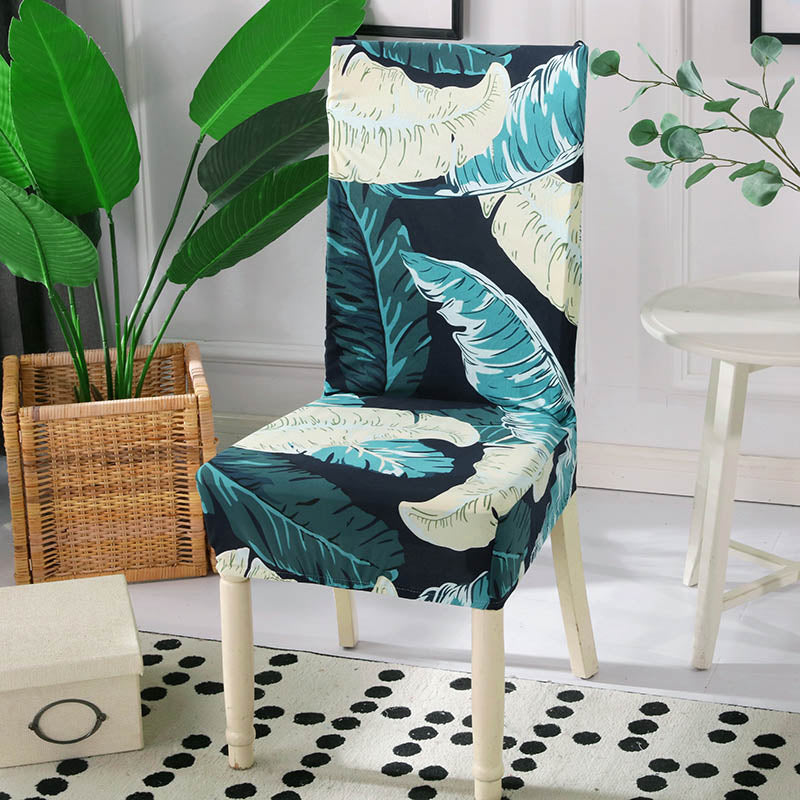 Chantelle Feather Green Chair Cover - SofaPrint™