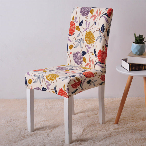 Alton Flower Chair Cover - SofaPrint™