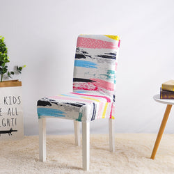 Escobar Multicolor Chair Cover - SofaPrint™