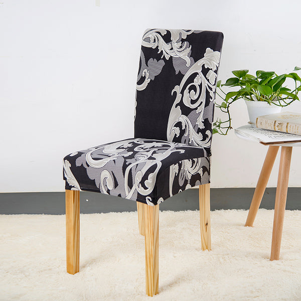 Alec Abstract Floral Chair Cover - SofaPrint™