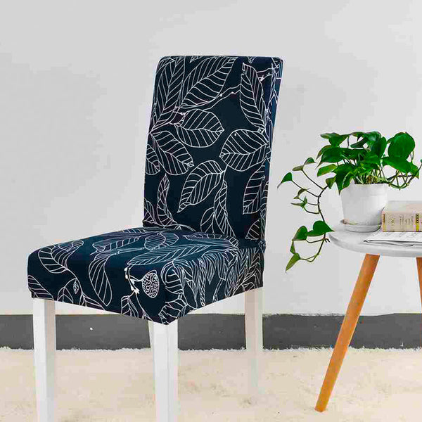 Alice Mann Blue Chair Cover - SofaPrint™