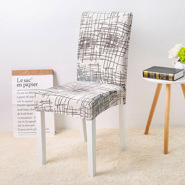 Melvin Beige Chair Cover - SofaPrint™