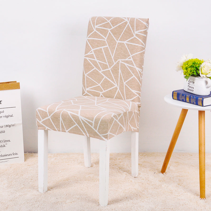 Reilly Geometric Chair Cover - SofaPrint™