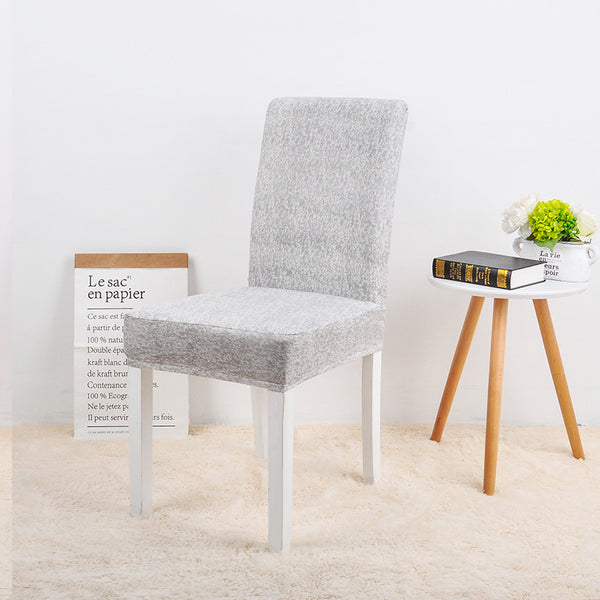 Sameer Gray Chair Cover - SofaPrint™