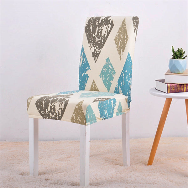 Lily Diamond Chair Cover - SofaPrint™