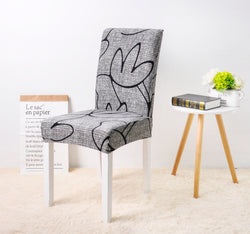 Shayla Line Art Chair Cover - SofaPrint™
