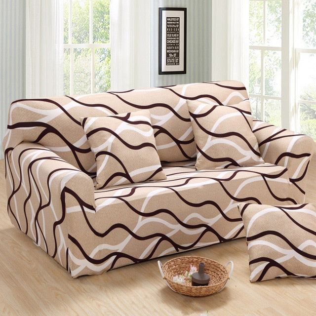 Lucca Swirl Sofa Cover - SofaPrint™