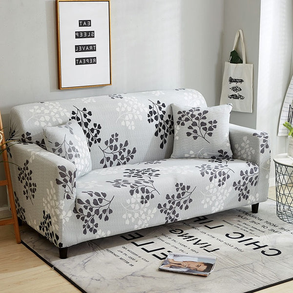 Estelle Flower Sofa Cover - SofaPrint™