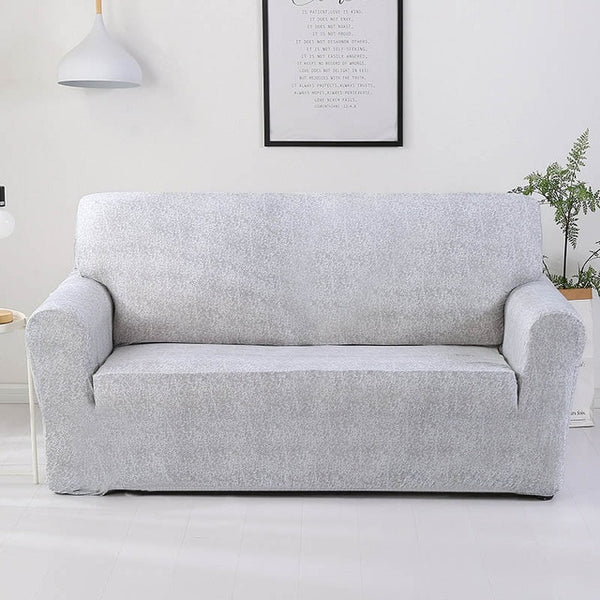 Sameer Gray Sofa Cover - SofaPrint™