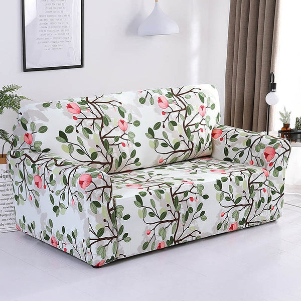 Dionne Flower Sofa Cover - SofaPrint™