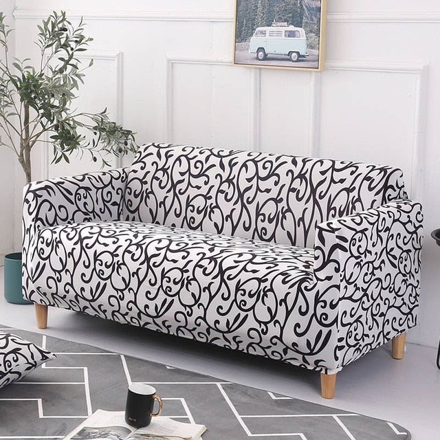 Diogo Abstract Sofa Cover - SofaPrint™