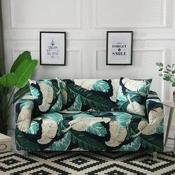 Chantelle Feather Green Sofa Cover - SofaPrint™
