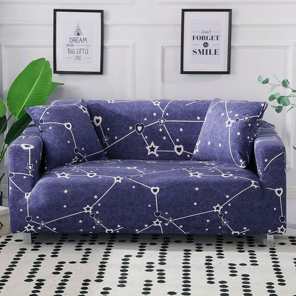Milena Star Sofa Cover - SofaPrint™