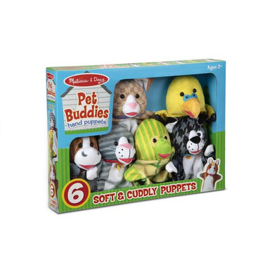 Pack Marionnettes Animaux Amis