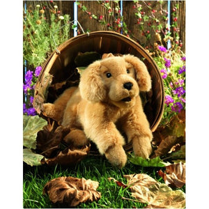 Chiot Golden Retriever Marionnette