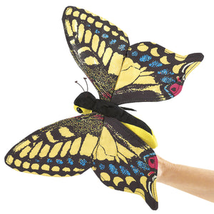 Papillon machaon Marionnette