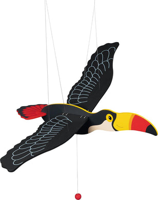 Mobile Toucan animal volant