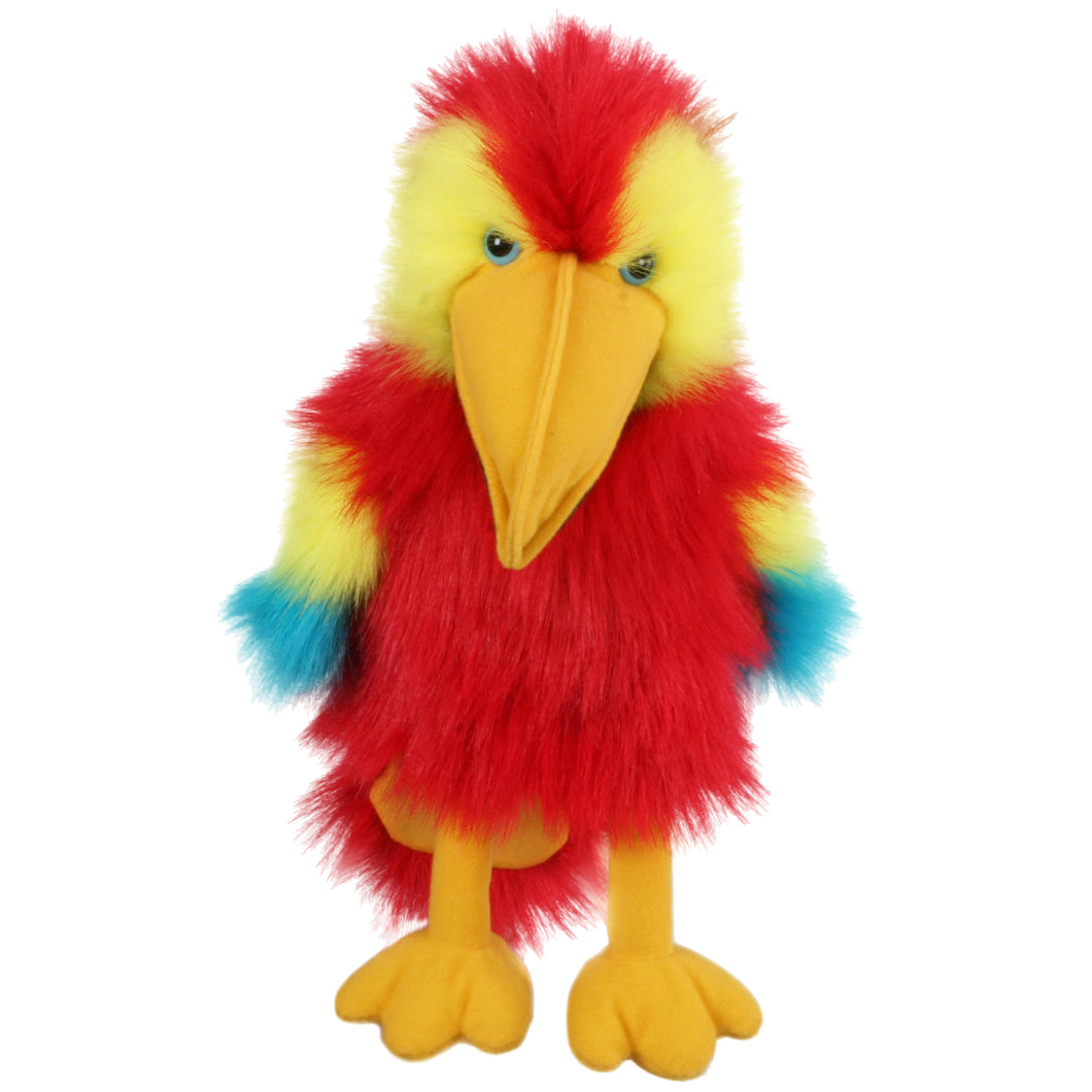 P35-PC004204-marionnette-Ara-rouge-Perroquet-The-Puppet-Company-Baby-Birds