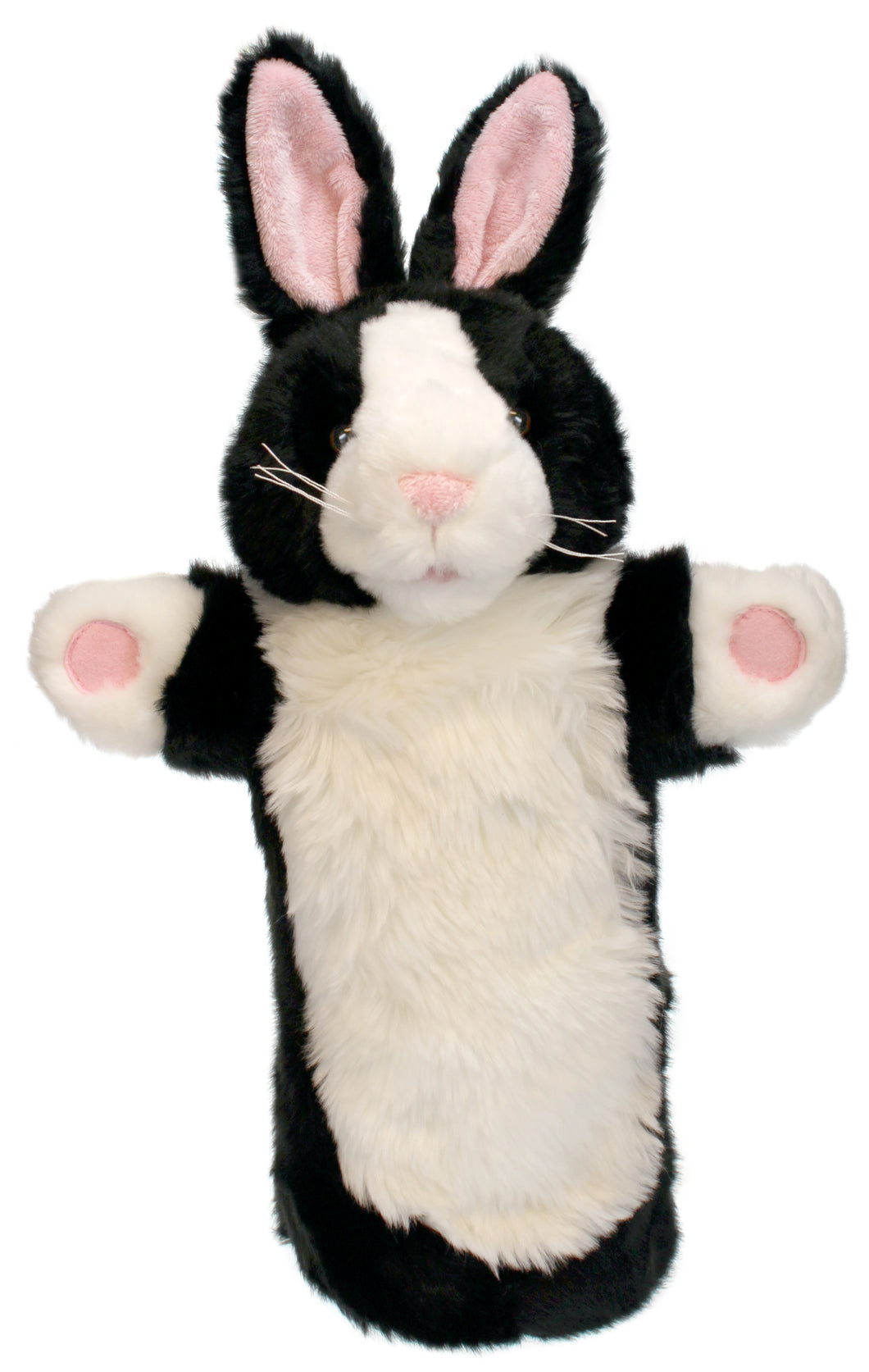 P382-PC006004-marionnette-Lapin-noir-et-blanc-The-Puppet-Company-Long-Sleeved-Glove-Puppets