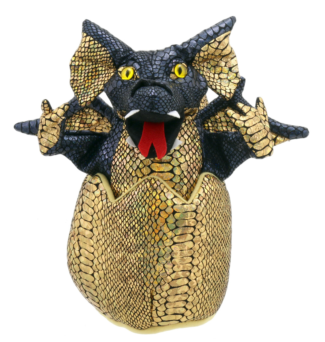 P44-PC004301-marionnette-Bébé-Dragon-Noir-The-Puppet-Company-Baby-Dragons-in-Eggs