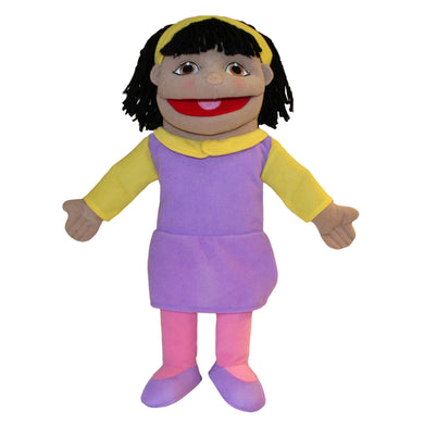 P448-PC002074-marionnette-Petite-fille-teint-olive-The-Puppet-Company-People-Puppet-Buddies