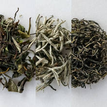 Load image into Gallery viewer, Green and White Tea Tasting Box