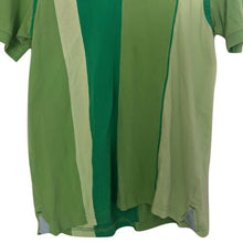 Load image into Gallery viewer, Tommy Hilfiger Shirt Polo Green Stripes Striped Colour Block Size Medium