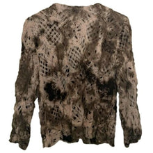 Load image into Gallery viewer, Alberto Makali Jacket Lightweight Brown Layered Neutral Designer Size Large